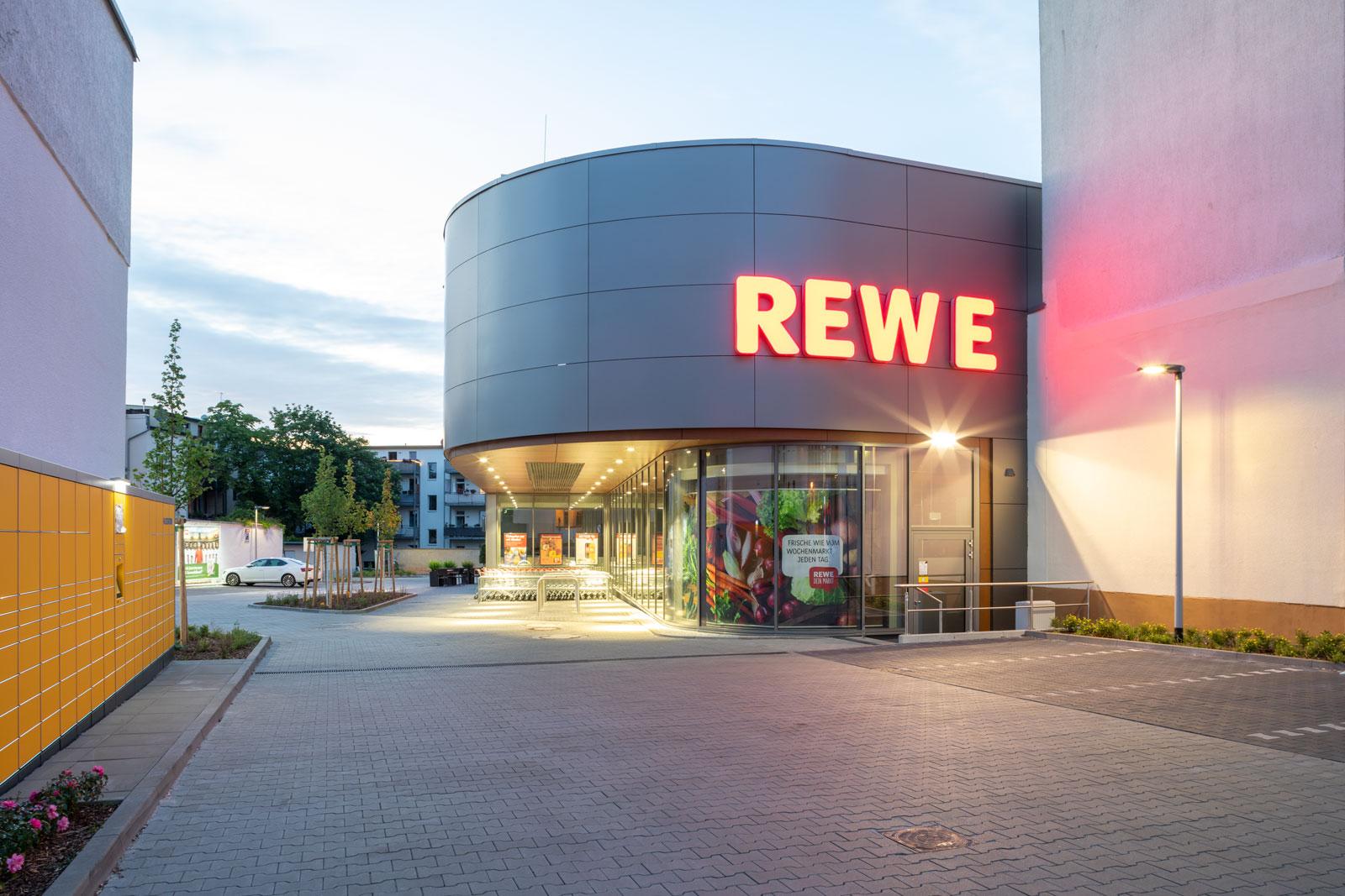 REWE Carl Robert Straße Halle