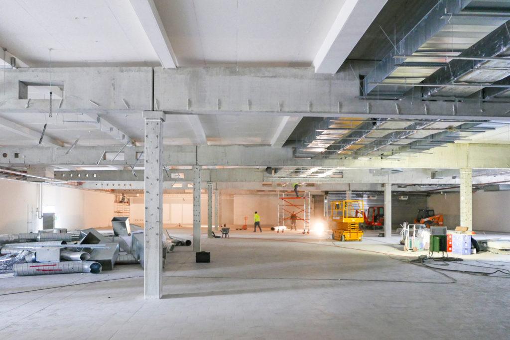Baustelle Rosenthal-Center-Berlin-Pankow
